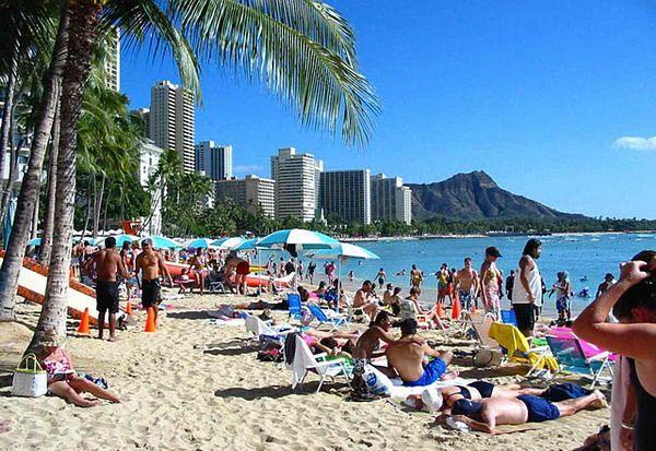 Beaches In Hawaii Waikiki Beach Oahu