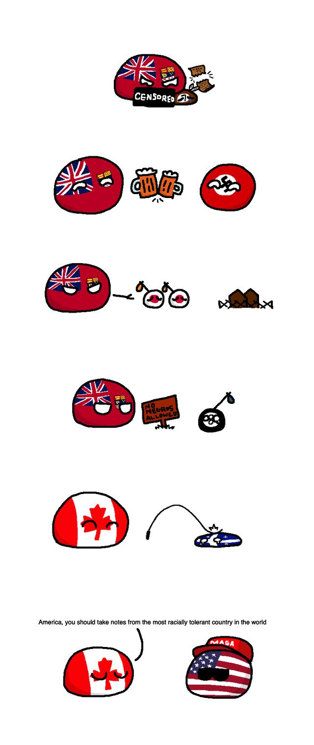 O Canada Polandball Country Jokes O Canada Funny Comics