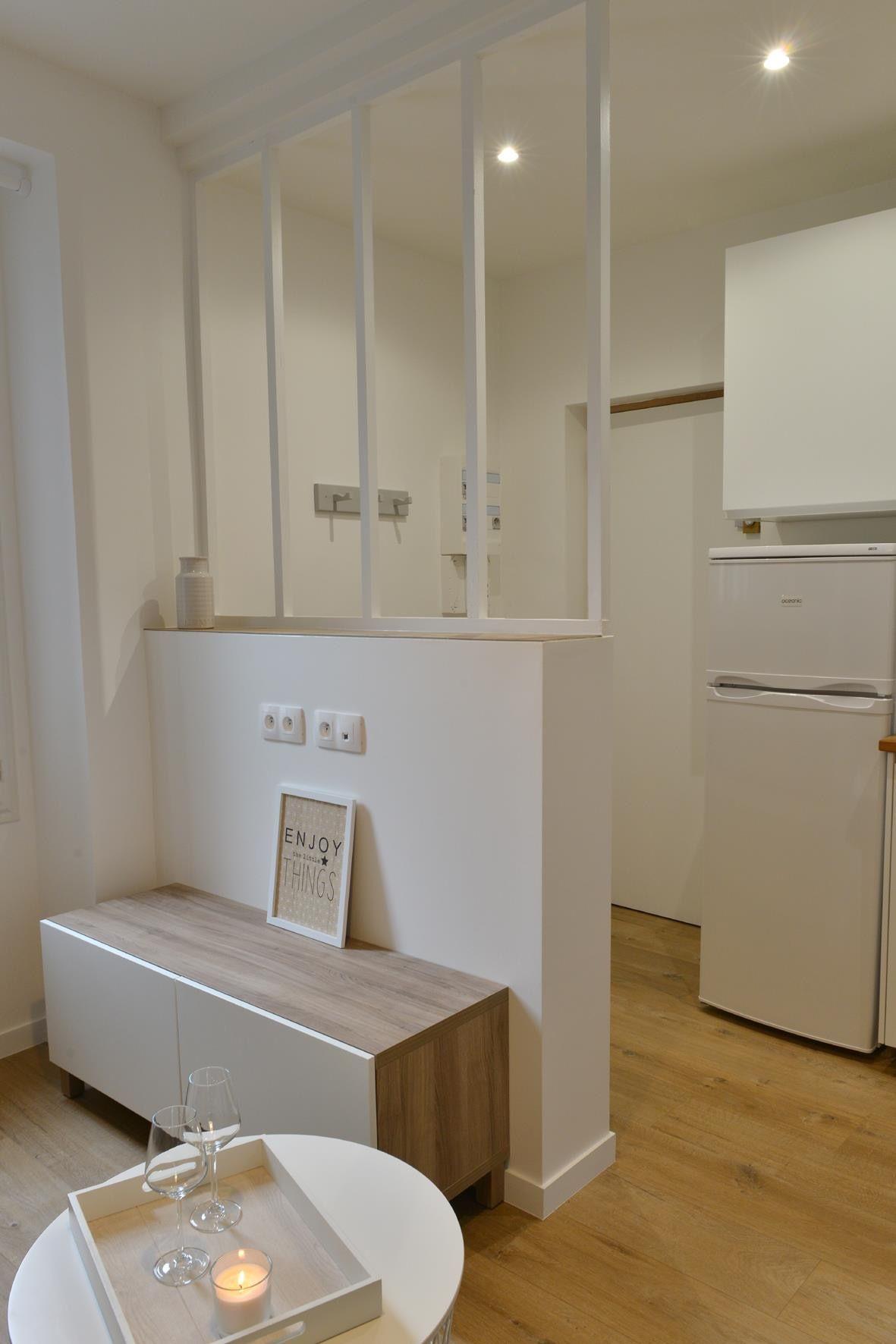 Aménagement et décoration pièce à vivre appartement, gain de place ...