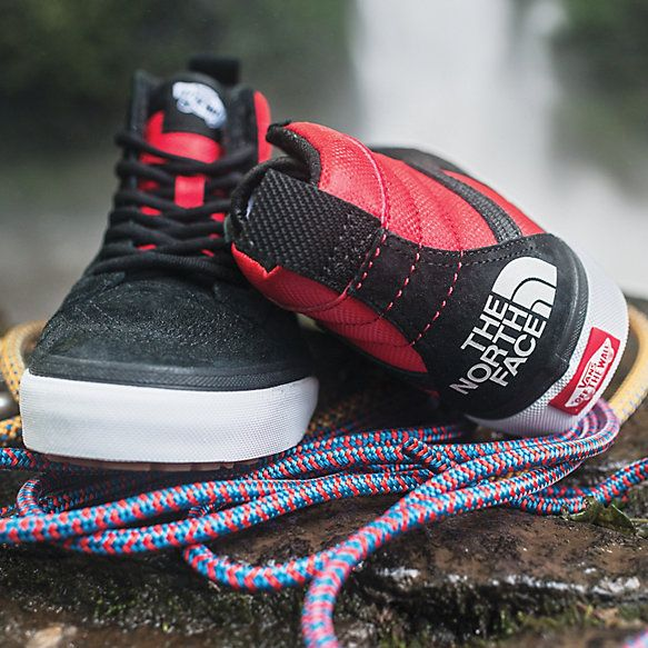 vans north face zapatillas