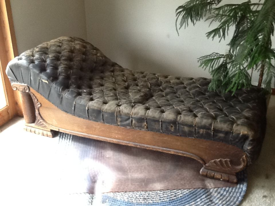 Reviving And Antique Fainting Couch Sunrooms Fainting