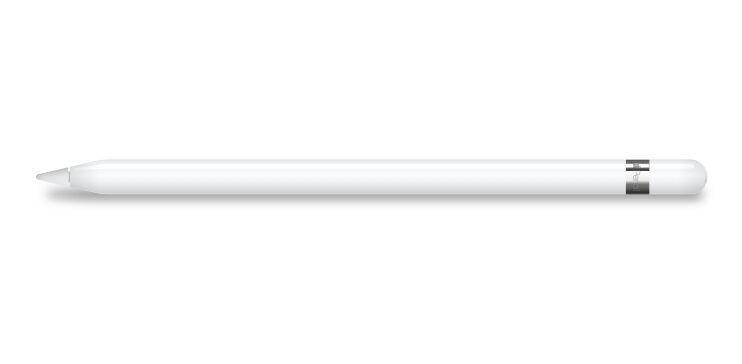Free Realistic Apple Pencil For Ipad Pro Mockup For Sketch Titanui Pencil For Ipad Apple Pencil Ipad Pro
