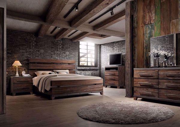Silo Bedroom Set Dark Brown Rustic Bedroom Sets Modern Rustic Bedrooms Modern Bedroom Set