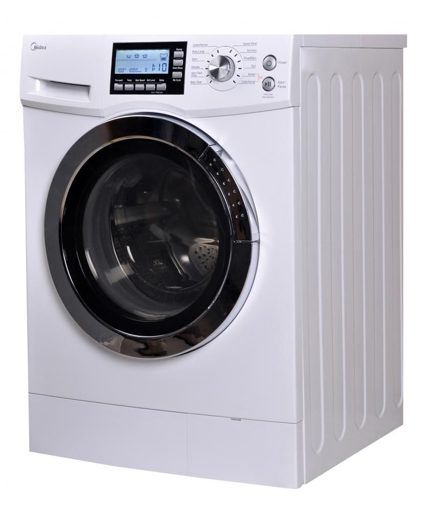 Statuette of Perfect Used Apartment Size Washer and Dryer ...
