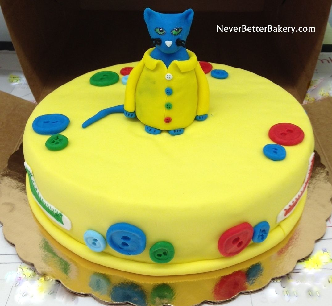 Cat birthday cake Sept 2014 Customer Gifts sent to Others