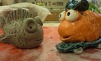 clay fish