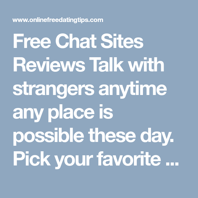 Any free chat rooms