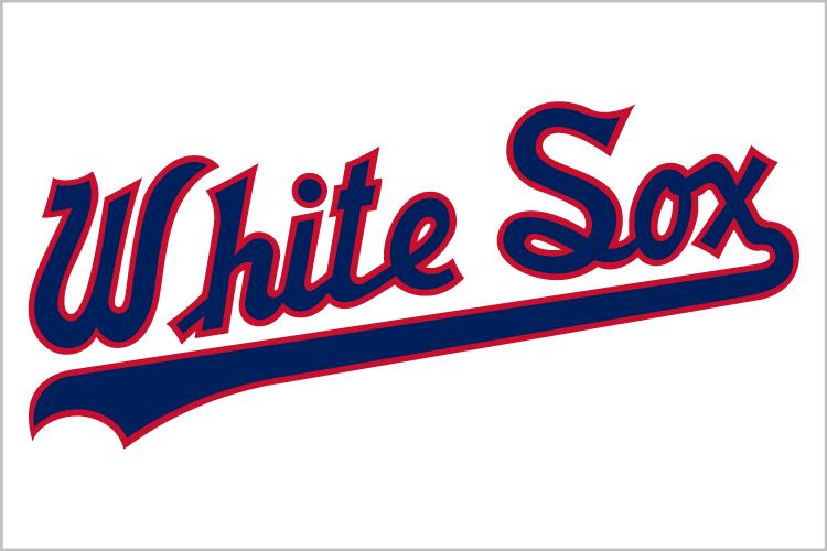 Chicago White Sox Jersey Logo Chicago White Sox White Sock Mlb Logos
