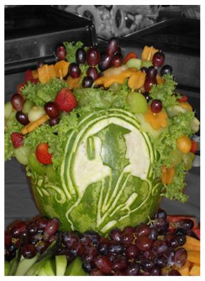 interesting ideas fruit bowl. Watermelon Carving Ideas  Fruit Esfotos party ideas