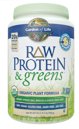 Raw Protein and Greens Vanilla Powder by Garden Of Life