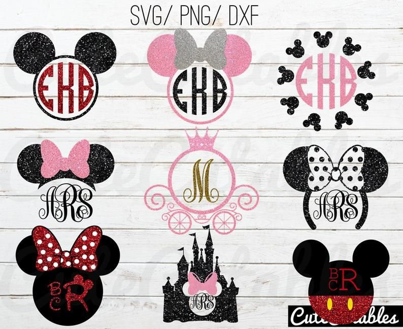 Disney svg bundle / disney monogram svg/ disney font svg