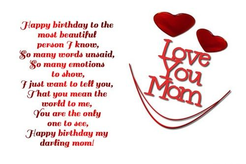 Birthday Wishes For Mom Birthday Cards Images Wishes – Mom Birthday Card Sayings