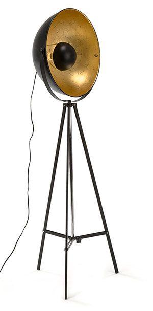industrial stehleuchte golden eye industrielook stylische lampen und leuchten pinterest. Black Bedroom Furniture Sets. Home Design Ideas