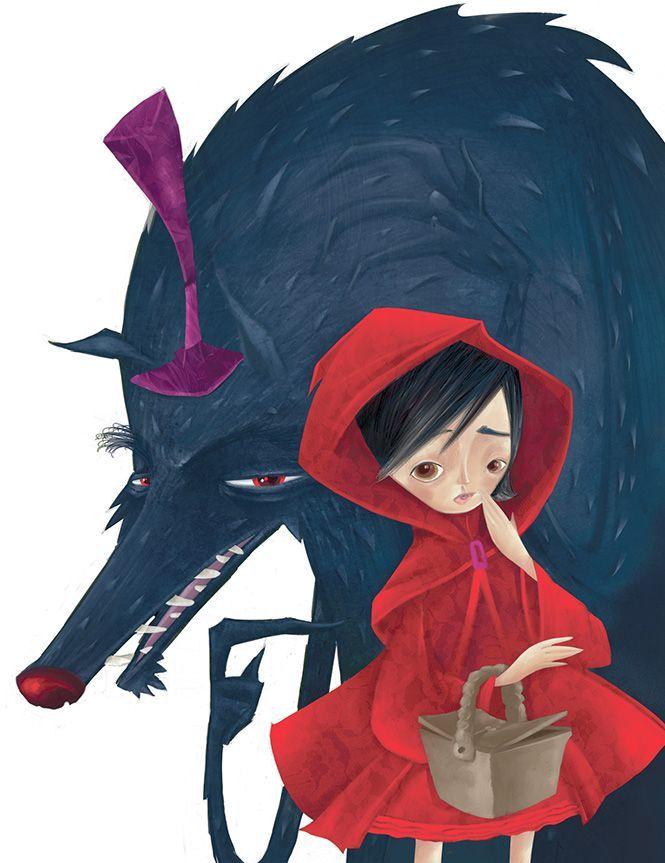 Caperucita Roja y el Lobo - Alexandre Rampazo