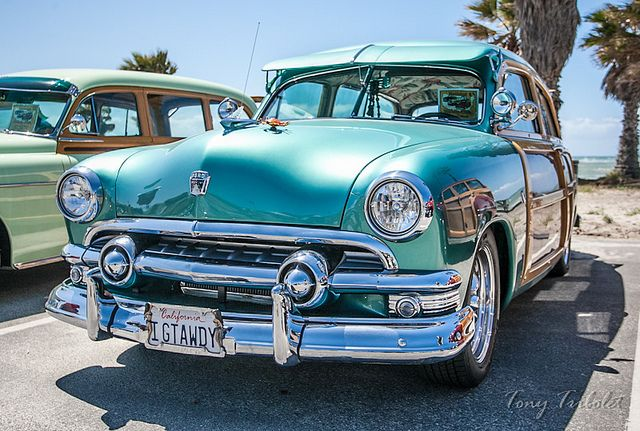 Woody Classic Car Brought To You By House Of Insurance In