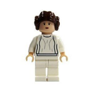 LEGO Star Wars Minifigure Princess Leia with Cape /& Blaster 75094 **Rare**New**