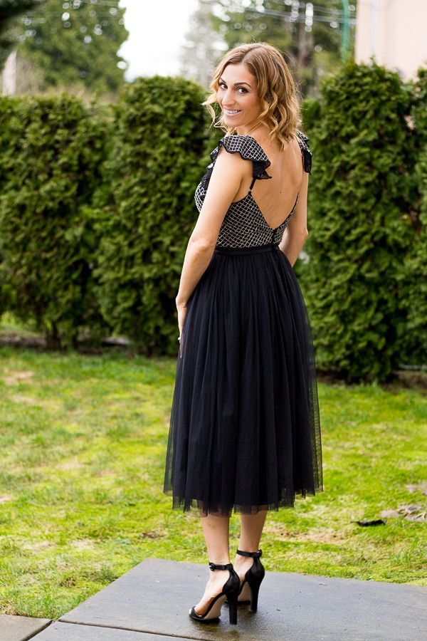 Tulle Needle  amp  Thread dress. Needle and Thread Embroidered Bodice Midi  Dress With Tulle 6c6d873f7