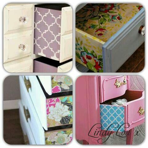 Pretty drawers