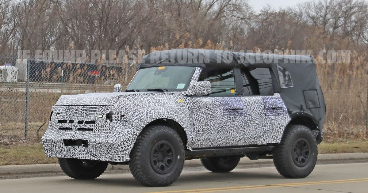 2021 Ford Bronco Soft Top Review in 2020 Ford bronco