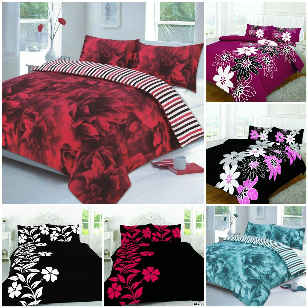 Luxury Floral Duvet Cover Sets presented by Ritzy Home Textiles . Visit online shop @ http://stores.ebay.co.uk/chic-ritzy