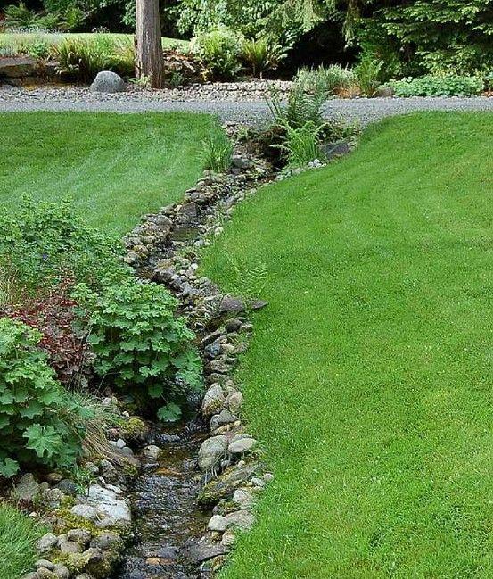 Garden Stream In Wooville Garden Stream Rain Garden 400 x 300