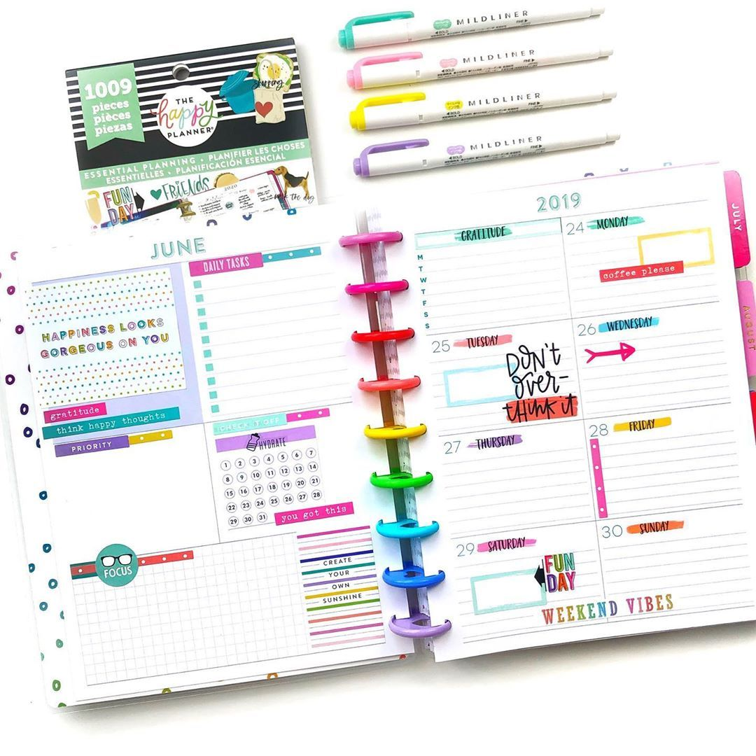Design Plan Repeat On Instagram The Last Week In June Can You Believe That After This Week Is Ove Happy Planner 365 Happy Planner Happy Planner Layout