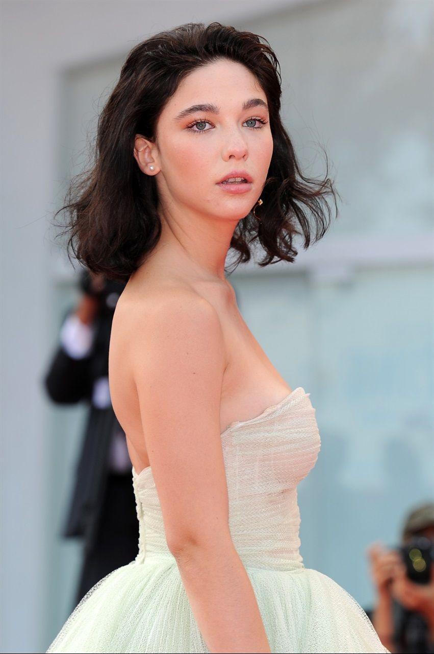 Matilda De Angelis | Ball dresses, Celebrities, Hair colour for green eyes