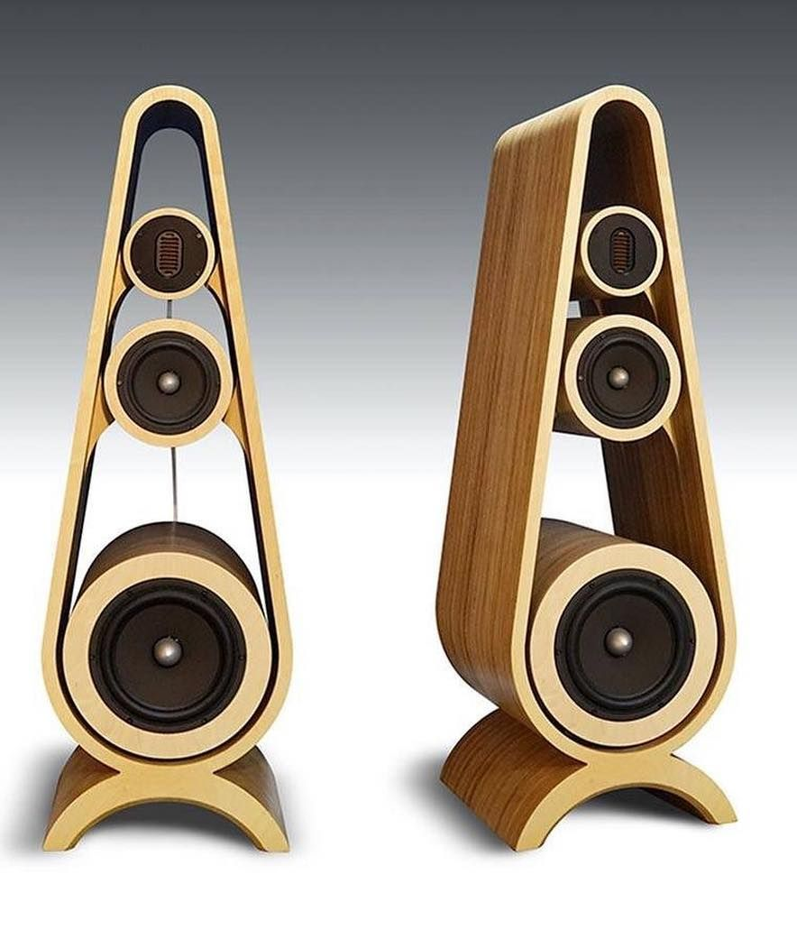 Vintage Audio Gear On Instagram Guess Who Makes These Turntable Vintageaudiogear Vintagehifi Midcent Wooden Speakers Speaker Box Design Speaker Design