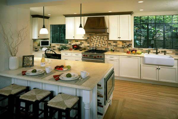 Open Plan Kitchen Designs Urban Classic Design nha co duong