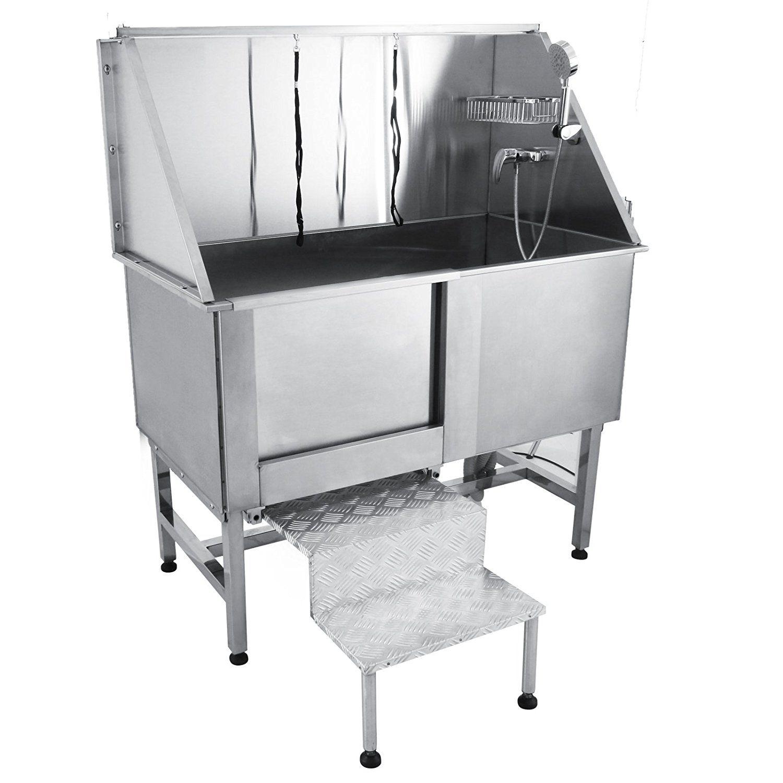 Orangea 50 Professional Stainless Steel Pet Dog Grooming Bath Tub