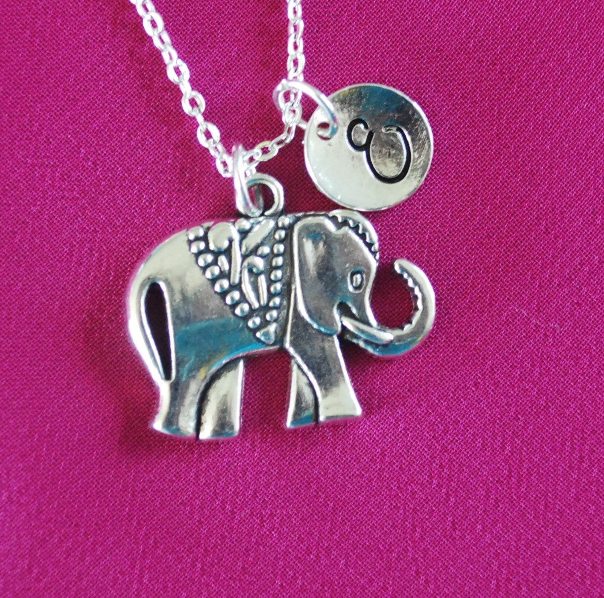 novelty gadgets elephant in products necklace the dark top pendant glow large
