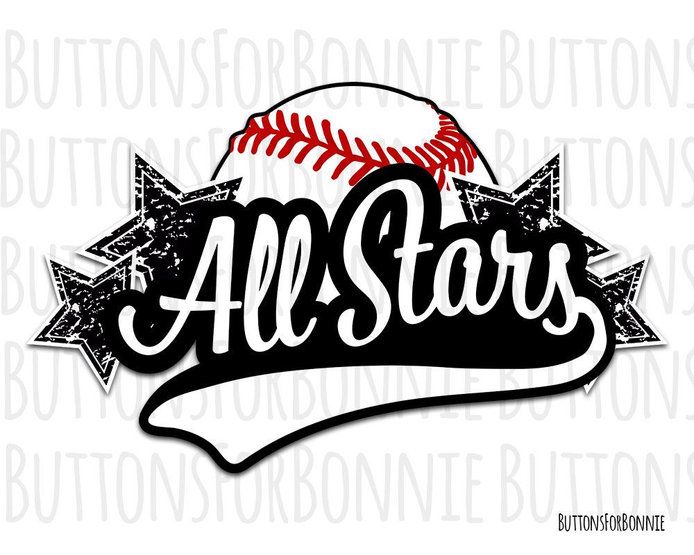 All Stars svg, Softball Svg, Baseball svg, template