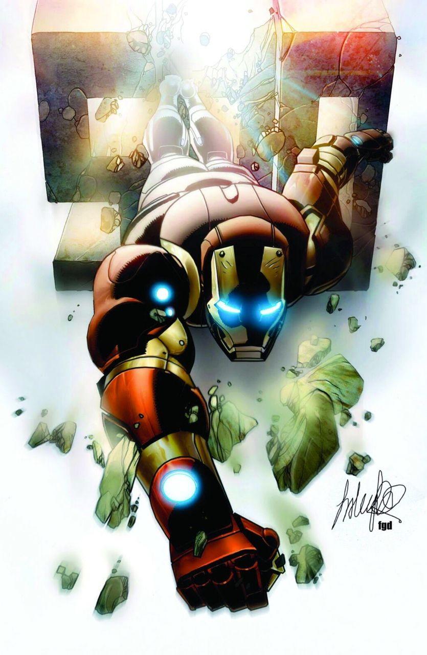 Iron Man - Salvador Larocca