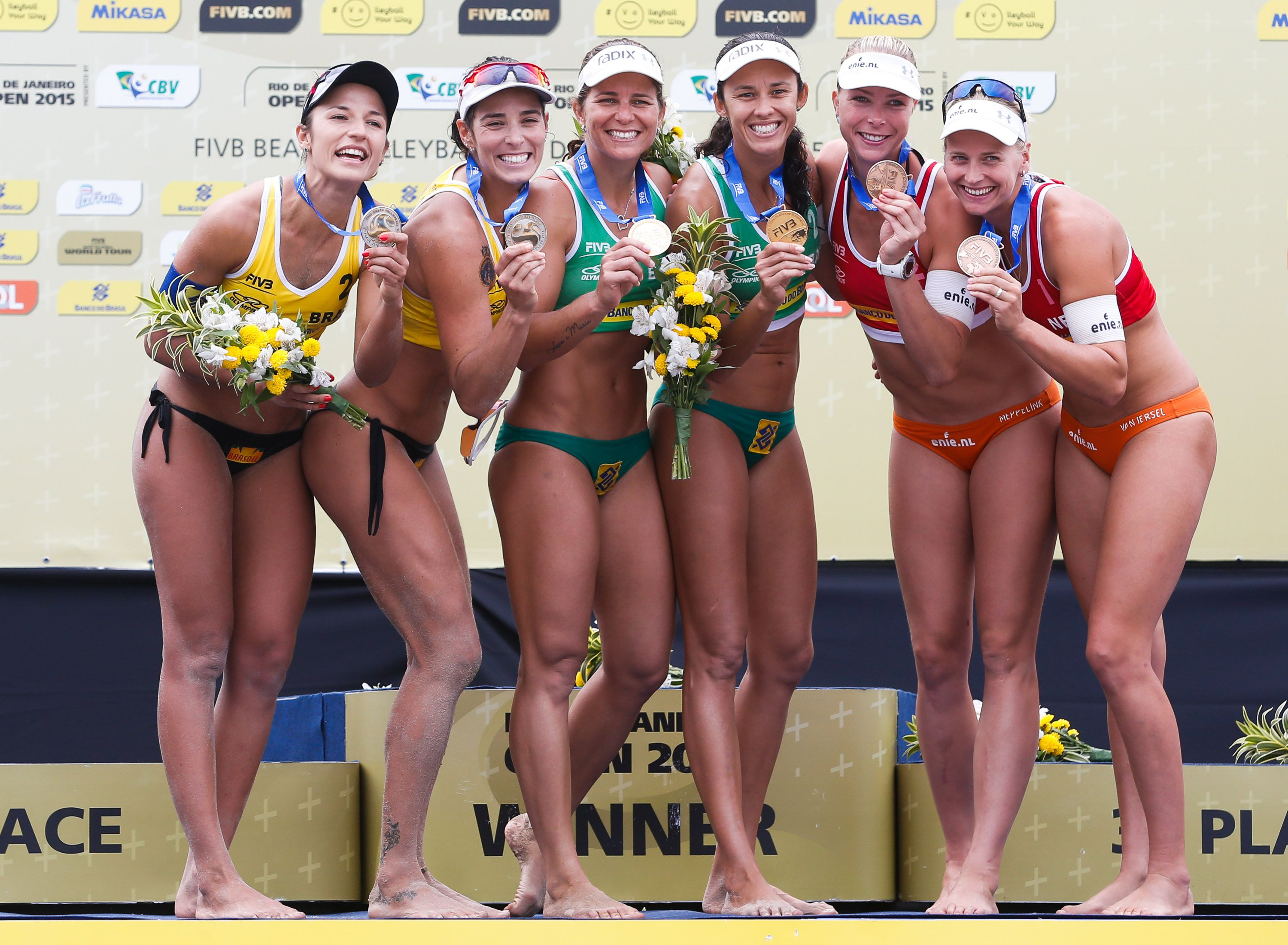 Newly Named Brazilian Beach Volleyball Olympic Team Validates Rio 2016 Berth Beach Volleyball Olympic Team Volleyball