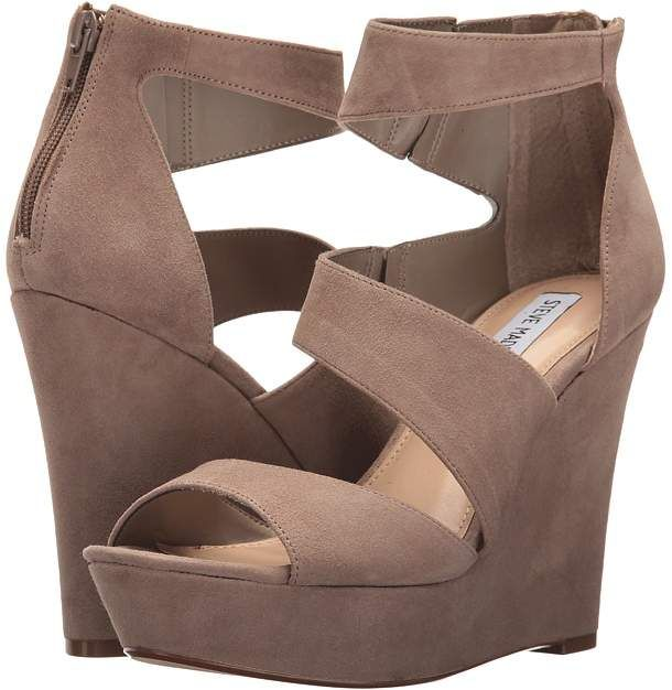 f3d691e8a54 Steve Madden Essex. Drape yourself in drama with the dynamic lines of the Steve  Madden Essex wedge  stevemadden  wedges  shoes  affiliate