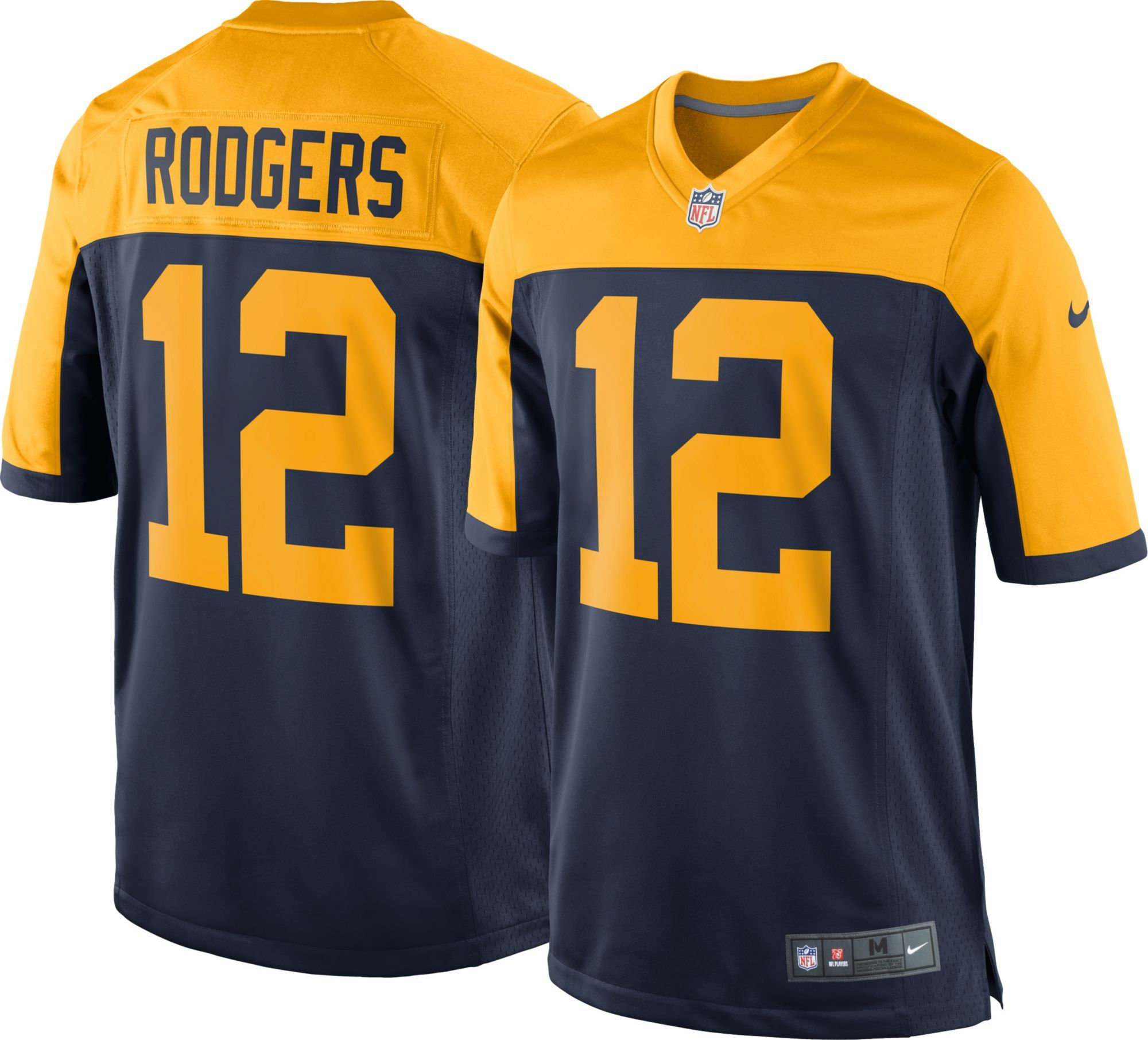 Nike Men S Alternate Game Jersey Green Bay Aaron Rodgers 12 Size Large Team Green Bay Packers Jerseys Nfl Jerseys Green Bay Packers Aaron Rodgers
