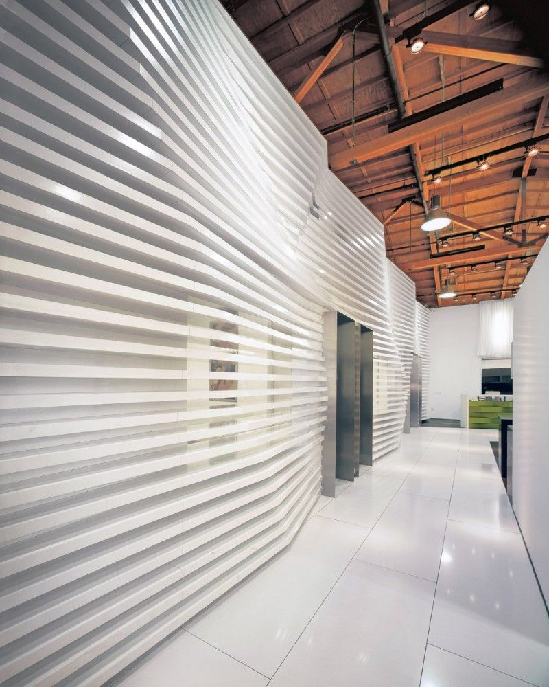 Wall Interior Design love how the interior wall is crafted using series of continuous