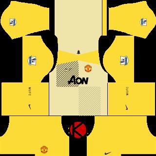 Manchester United Goalkeeper Away Kitsmanchester United Kits 2013 2014 Dream League Soccer In 2020 Soccer Kits Manchester United Away Kit Manchester United