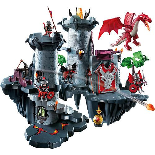 playmobil great dragon castle playmobil toys r us. Black Bedroom Furniture Sets. Home Design Ideas