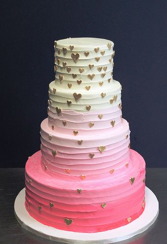 In Love Yummy Stufff Kuchen Ombre Torte Hochzeitstorte