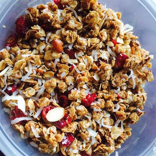 how to make a granola parfait