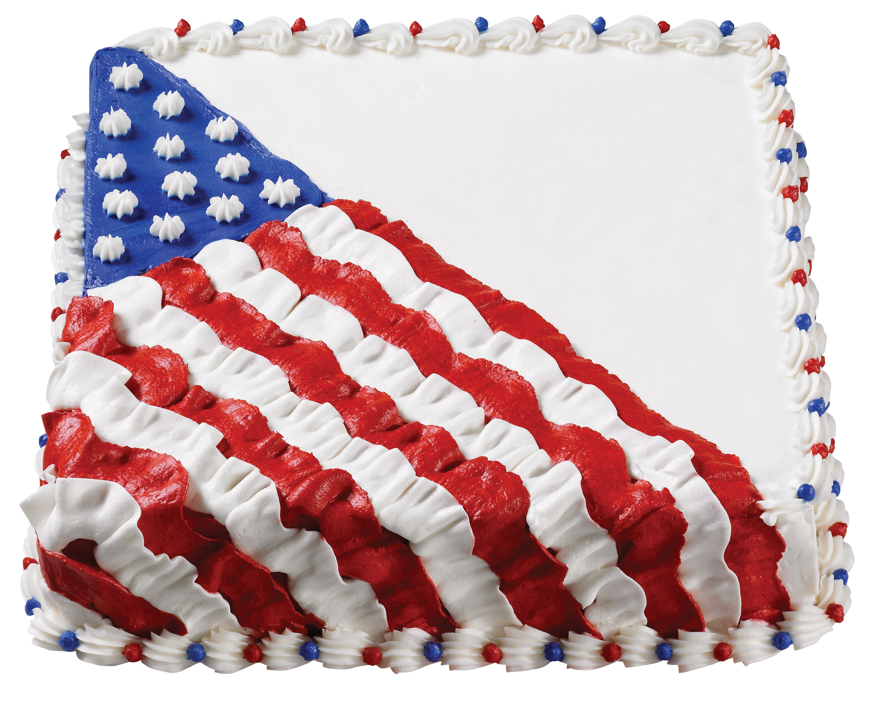 Flag Cake Julyfourth With Images 4th Of July Cake Patriotic