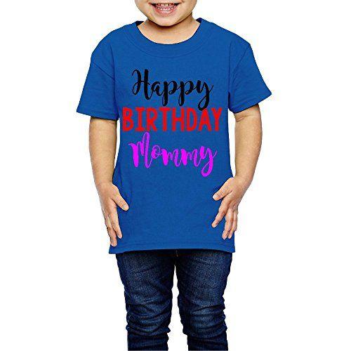 Wukad784x51 Girls Happy Birthday Mommy 2 6 Years Old Tee Shirt