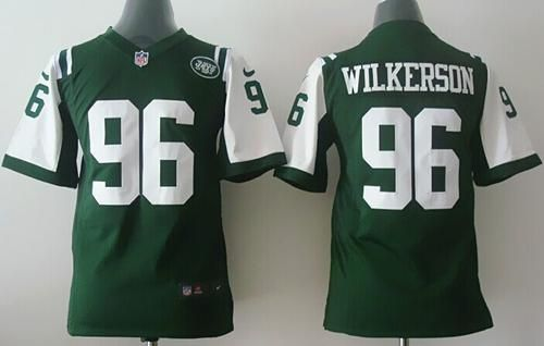 Nike Jets  96 Muhammad Wilkerson Green Team Color Youth Stitched NFL Elite  Jersey And   103733faa