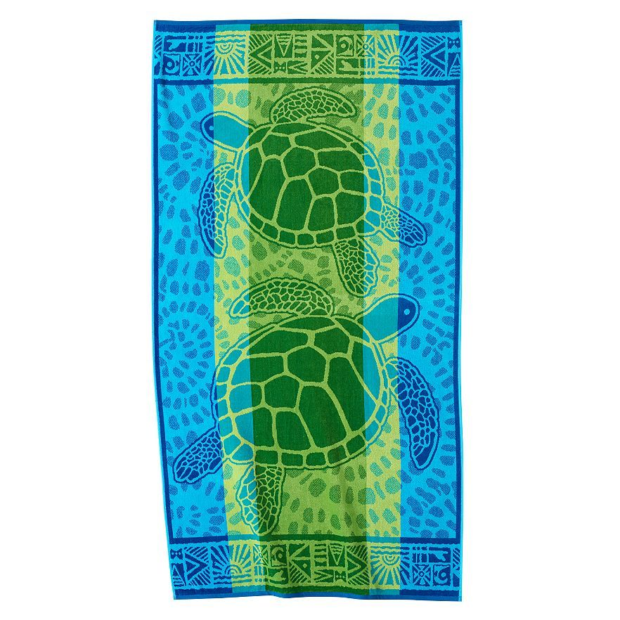 Celebrate Summer Together Turtles Beach Towel Look What I