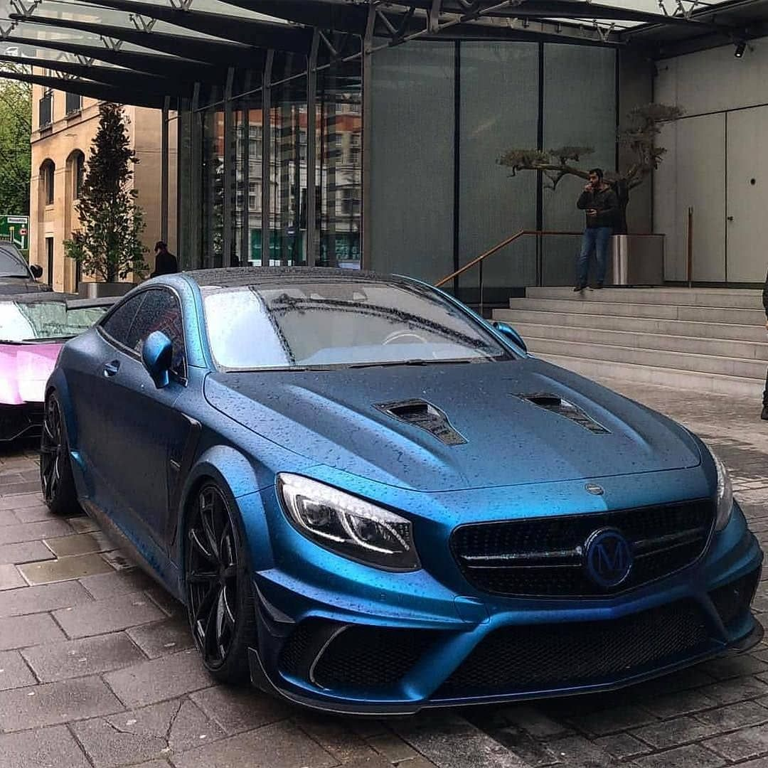Mercedes Benz Sport: Mercedes-Benz S 63 AMG 4Matic+ Coupe (C 217) Mansory