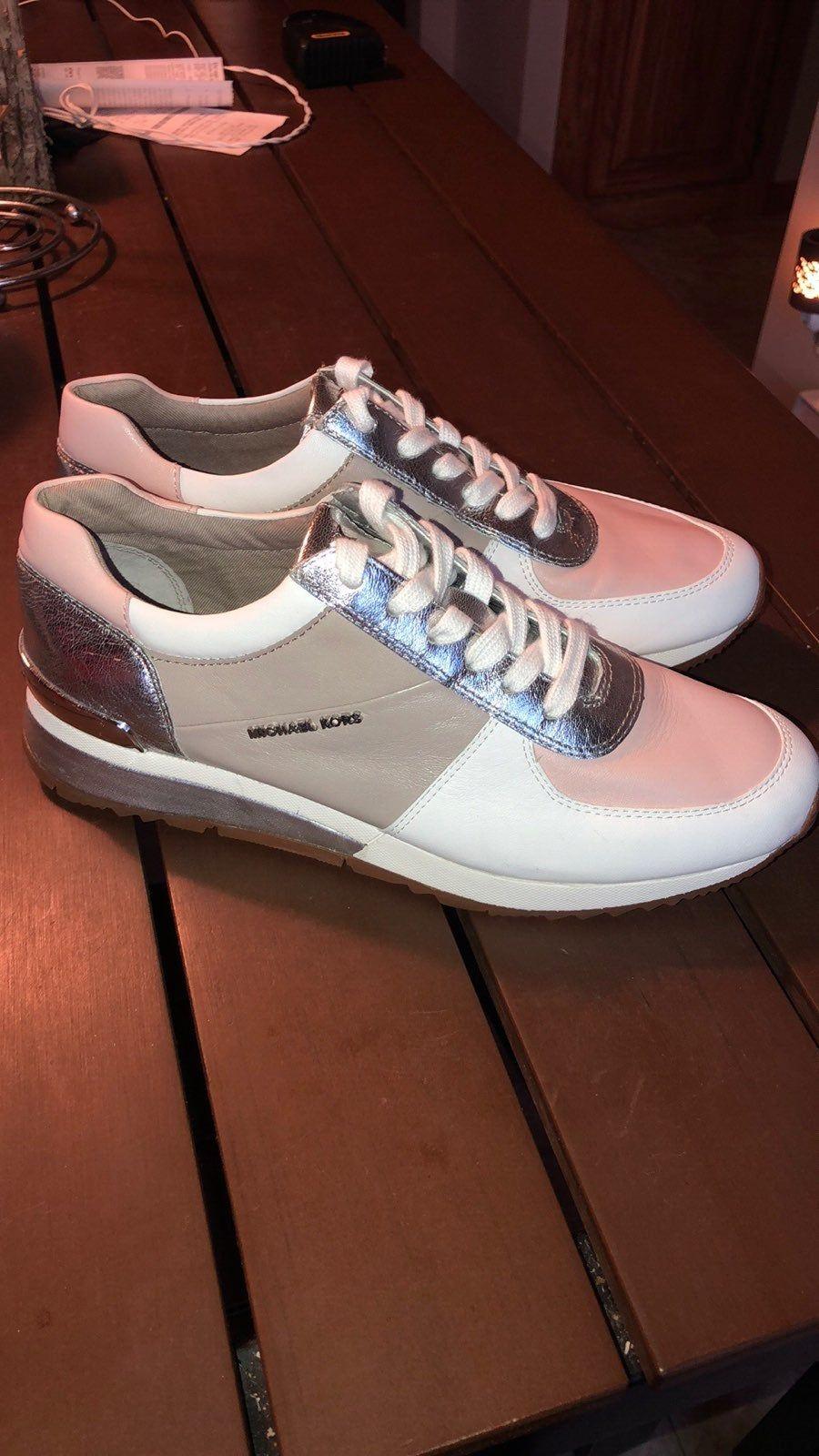 michael kors tennis shoes pink
