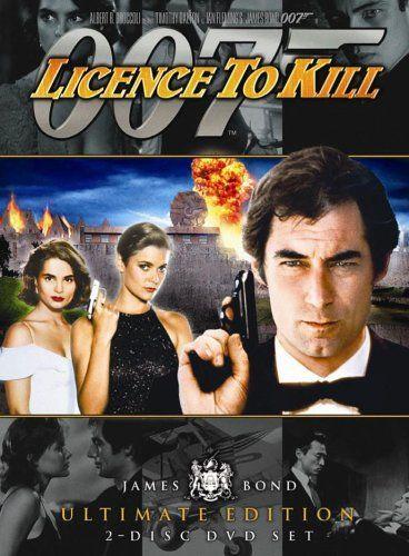 DVD Cover License to Kill