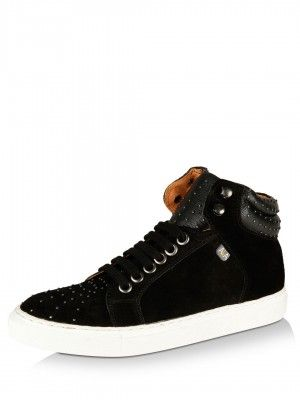 6d1921f7b364 AKA PATRICK COX for KOOVS Micro-Studded Hi-Top Shoes