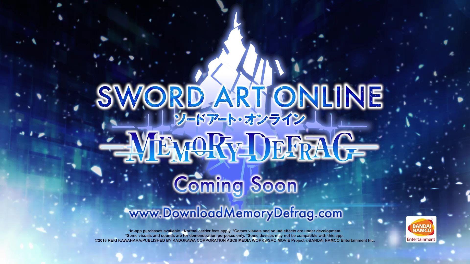 46+ Sword art online memory defrag reddit info